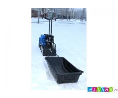 Продам сани-волокуши к мотобуксировщику и снегоходу