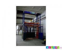 Подъемник грузовой ТИТАН шахтный для склада