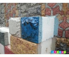 4-хслойные теплоблоки и мрамор из бетона