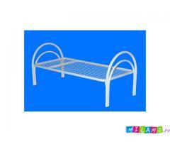 Кровати металлические для учебных заведений, турбаз