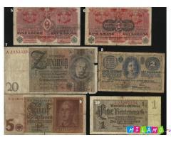 Продажа старинных банкнот. 50 рублей за штуку.
