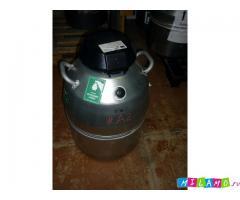 Сохранение в азоте до 6 месяцев, Дьюар MVE XC/43, 43л