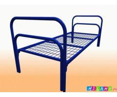 Кровати металлические для учебных заведений, кровати для больниц