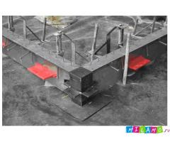 Несъемная опалубка SHIELDJOINT для бетонного пола выставочного центра