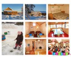Снять домик в деревне на новогодние праздники 2015 недорого