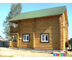 Срубы домов, бань, беседок из Мордовии