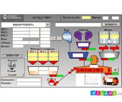 Автоматизация (АСУТП) для РБУ, бетонных заводов.