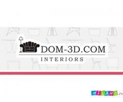 Услуги дизайн студии DOM-3D