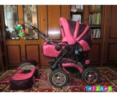 Детская коляска  3 в 1 RIKO LIDER Польша