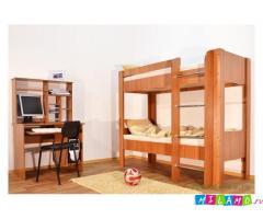Кровать двухъярусная 2.   Цена кровати 5500 рублей.