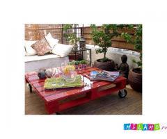 Мебель ручной работы из паллетов