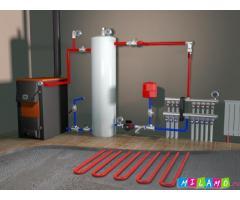 Монтаж отопления