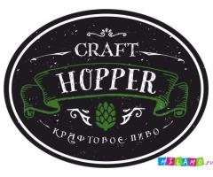 Бар - маркет крафтового пива Craft Hopper