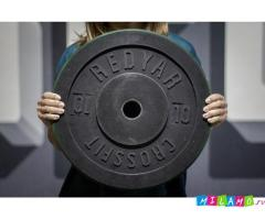 Предлагаем диски резиновые для Тяжелой атлетики, кроссфита, фитнес залов