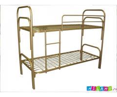 Кровати металлические для общежития, кровати армейские, кровати для больницы, пансионата, санатория