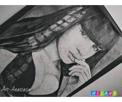 портреты по фото - Art Anastasia