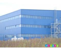 Большепролетное полнокомплектное здание из легких металлических конструкций (ЛМК)