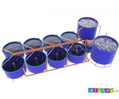 Домашний осетровый модуль (УЗВ) 4000 кг рыбы в год