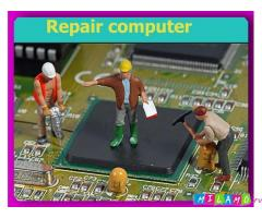 Замена чипов и видеоматриц при ремонте ноутбуков, ПК