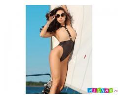 Модный супер купальник с высокой талией слитный монокини утягивающий, корректирующий. Бразилиана