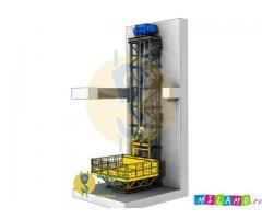 Мачтовый грузовой подъёмник, консольный подъёмник