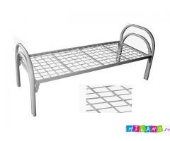 Кровати металлические со сварной сеткой для учебных заведений, школ