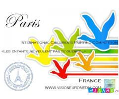 Международный Конкурс Детских Рисунков «Дети не хотят войны» Париж (Франция)
