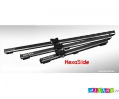 Слайдер,глайдтрек,рельса Glidetrack для видеосъемки HexaSlide