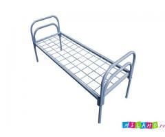 Кровати в подсобки, вагончики, Кровати для хостелов, Кровати металлические в бытовки