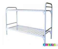 Фирменные кровати металлические от производителя крупным и мелким оптом