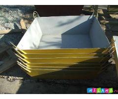 Бункеры, бадьи, ящики для бетона