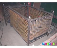 Металлические емкости, контейнеры, баки, траверсы, люльки, кабины