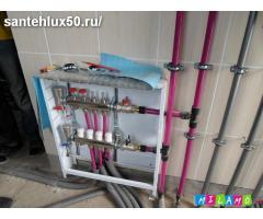 Монтаж отопления, водоснабжения, канализации