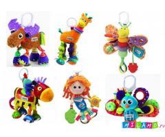 Новые развивающие игрушки Lamaze