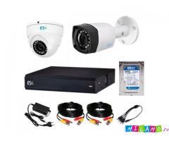 Комплект видеонаблюдения для частного дома