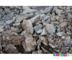 скальный грунт (фракции 0-300; 0-500 мм) с доставкой навалом