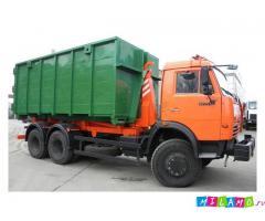 Вывоз мусора по Санкт- Петербургу и Лен. области