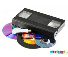 Оцифровка видеокассет на внешние накопители.Телефон:89634399815