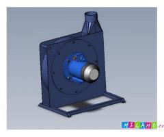Радиальный вентилятор PZO-3-MU
