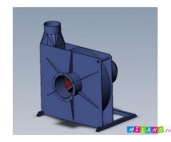 Радиальный вентилятор PZO-5.5-MU