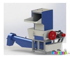 Дробилка для ПЭТ бутылок PZO-800 DKS