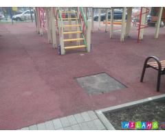 Ремонт и обслуживание спортивных и детских площадок, стадионов.