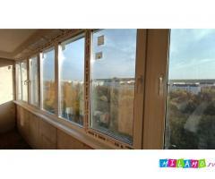 Остекление,утепление лоджий,балконов - окна Рехау