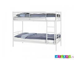 Двухъярусная кровать б\у IKEA, 2 пружинных матраса