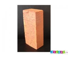 Кирпич цокольный, керамический, одинарный  М150
