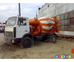 Продажа автобетоносмесителя 5 куб. на шасси МАЗ