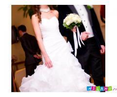 Свадебное белое платье