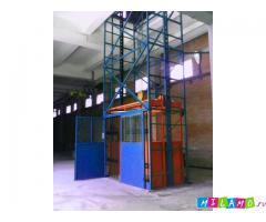 Грузовой подъемник ТИТАН шахтный для склада
