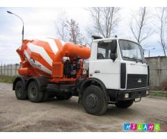 Продажа автобетоносмесителя 7 куб. на шасси МАЗ6312В3
