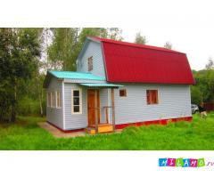 Продаётся дом площадью 60кв.м. из бруса
